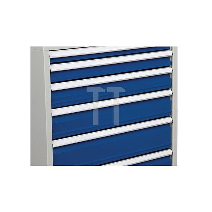 Schubladenschrank H1019xB705xT736 grau/blau 2x50 1x75 2x100 1x125 1x150 1x250