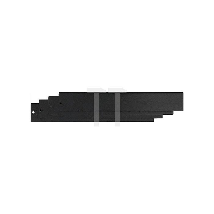 Schubladenunterteilungsset f.Art.Nr.4000871122 6tlg. Stahlblech