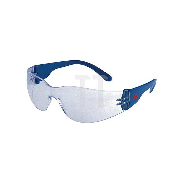Schutzbrille 2720 Bügel blau AS AF UV EN166 PC-Scheiben klar 3M