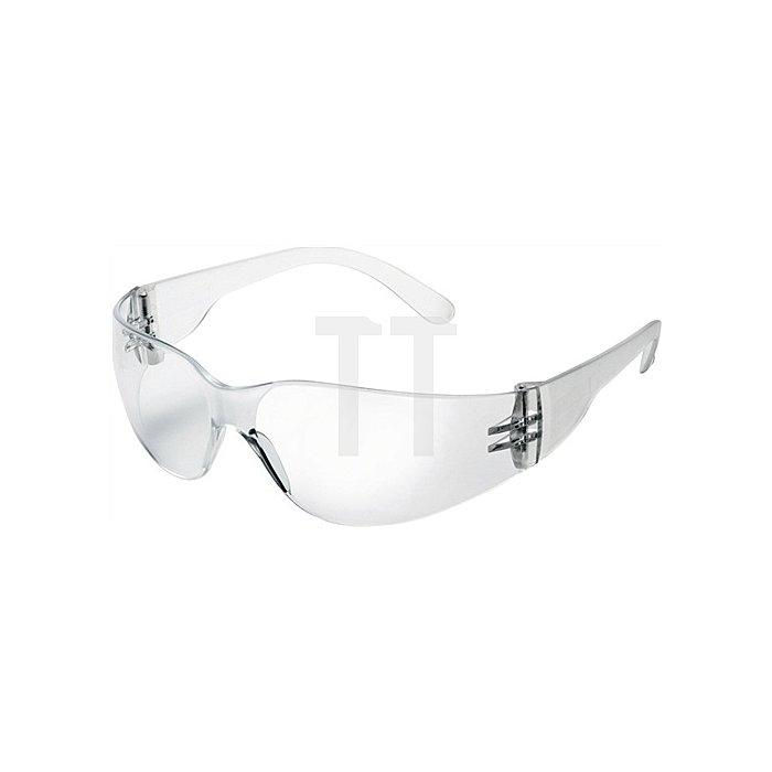 Schutzbrille 568H Bügel u. Gläser klar Anti-Kratz komplett aus Polycarbonat EN16