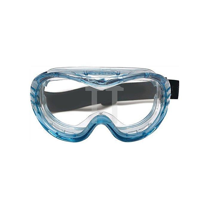 Schutzbrille Fahrenheit klar m.Nylon-Kopfband Polycarbonatscheibe 3M