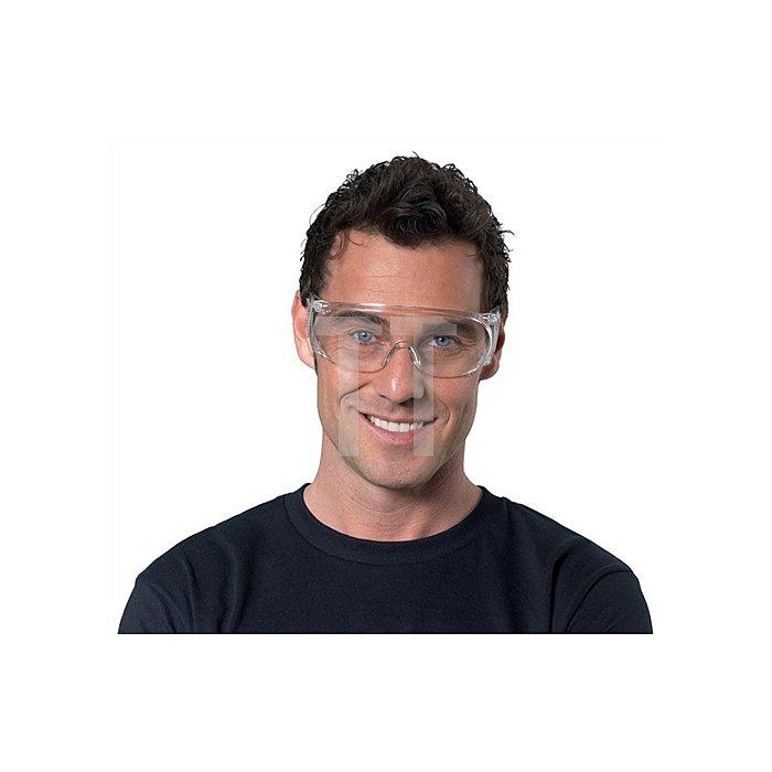 Schutzbrille klar PC-Gläser Stufe F SAFETY f.Besucher EN166