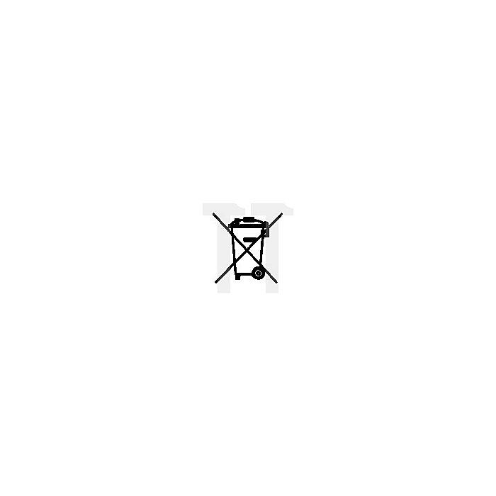 Schutzbrille LED Light Vision klar Bügel silber-schwarz, AS/AF/UV EN 166 PC klar