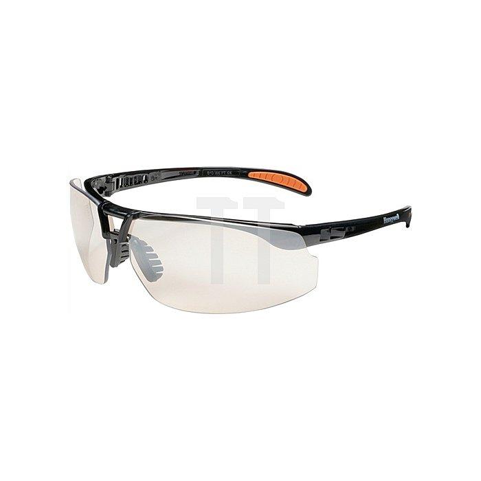 Schutzbrille Protégé Rahmen schwarz Fogban-Scheibe klar beschlagfrei EN166