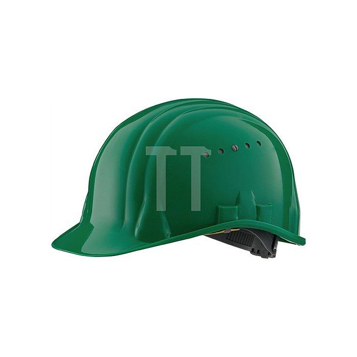 Schutzhelm Baumeister 80/6 grün EN397 SCHUBERTH 6Pkt-Gurtband