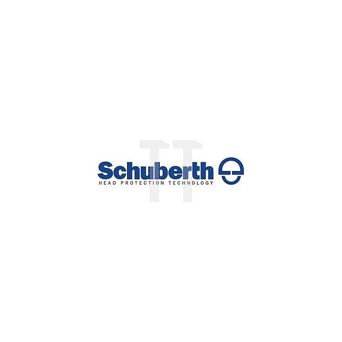 Schutzhelm Baumeister 80/6 m.Visier weiss SCHUBERTH 6Pkt-Gurtband