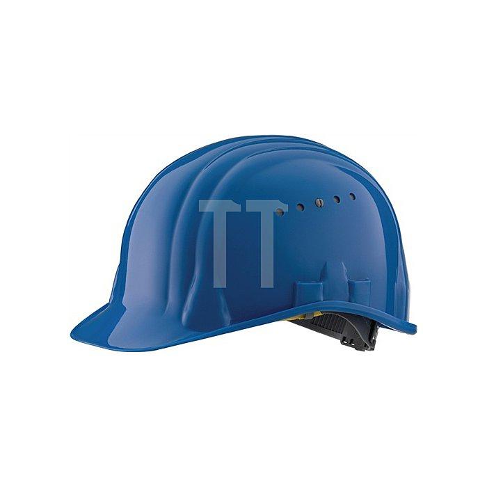 Schutzhelm Baumweister 80/6 blau EN397 SCHUBERTH 6Pkt-Gurtband