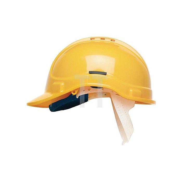 Schutzhelm EN397 1000V VDE E Protector Style 300 Elite belüftet 6-Pkt. gelb