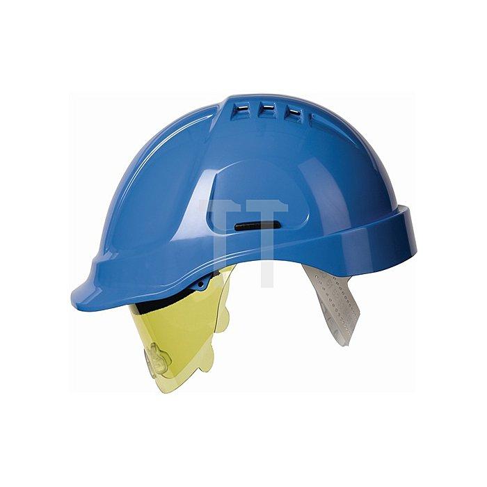 Schutzhelm EN397 Protector Style 600 belüftet 6-Pkt. EN397 1000V VDE E