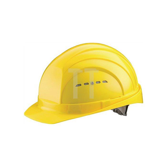 Schutzhelm Eurogard 6 gelb PE EN397 gr.Stirnfläche SCHUBERTH 6Pkt-Gurtband