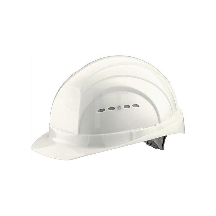 Schutzhelm Eurogard 6 weiss PE EN397 gr.Stirnfläche SCHUBERTH 6Pkt-Gurtband