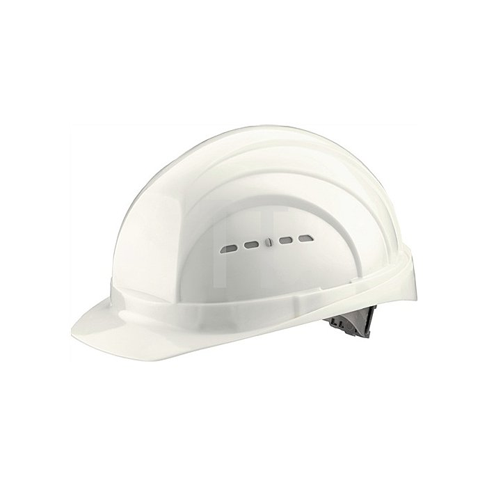 Schutzhelm Euroguard 4 weiss PE EN397 gr.Stirnfläche SCHUBERTH 4Pkt-Gurtband