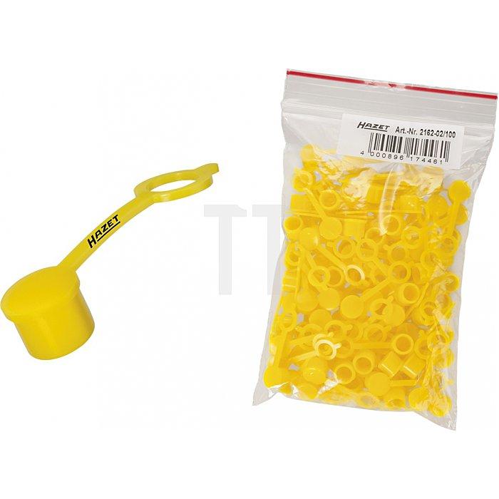 Hazet Schutzkappen für Kegelschmiernippel (100er-Pack) 2162-02/100