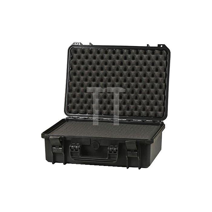 Schutzkoffer B.464xT.366xH.176mm m. Schaumstoffeinlage IP67