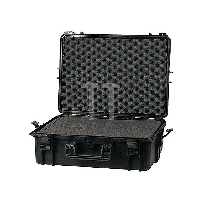 Schutzkoffer B.555xT.428xH.211mm m. Schaumstoffeinlage IP67