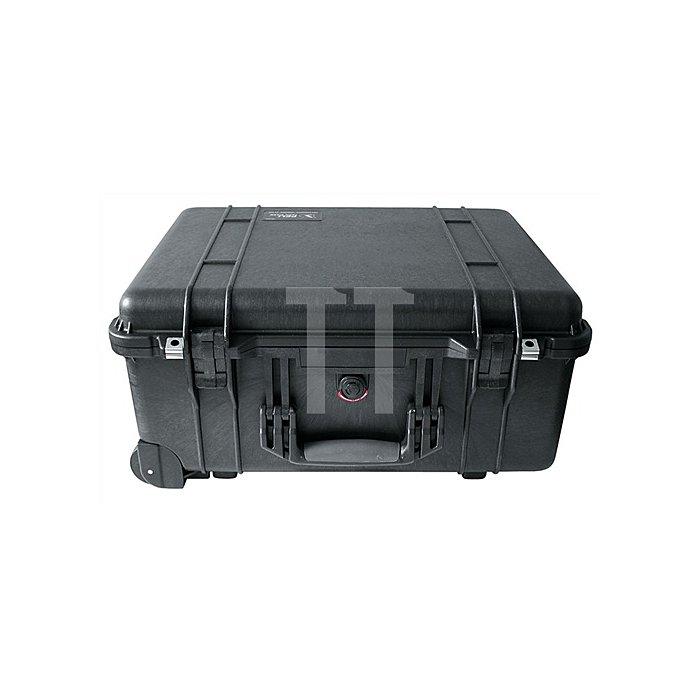 Schutzkoffer rollbar 560x455x265mm Schaumstoffeinlage PELI wasserdicht