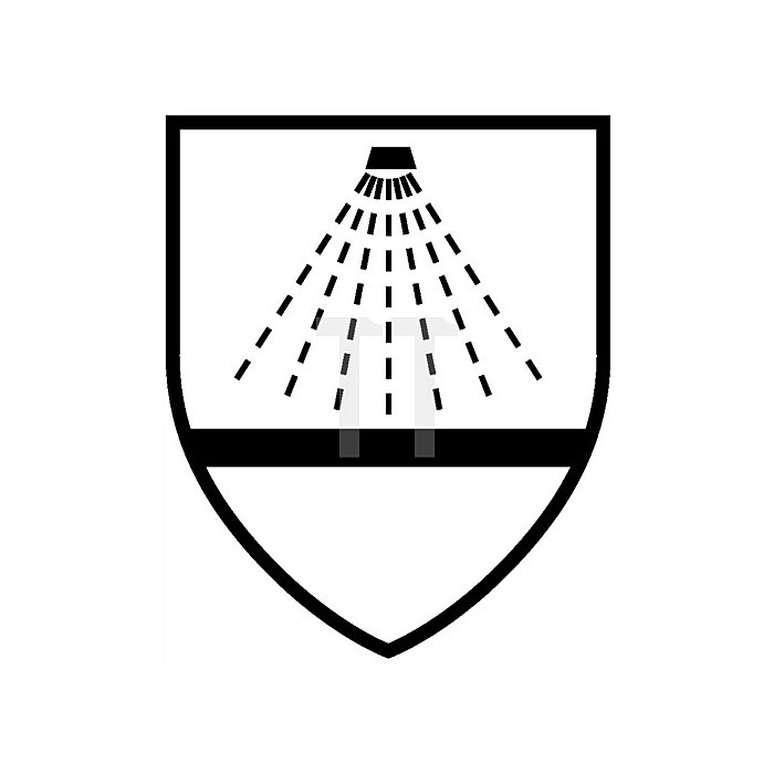 Schutzoverall Gr.L gelb Tychem C, Kat. III, Typ 3, 4, 5, 6