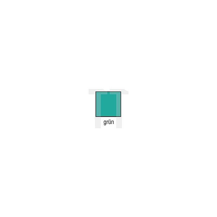 Schutzoverall Gr.L grün Decontex P100 PVC m.Kapuze KIND Typ 5/6