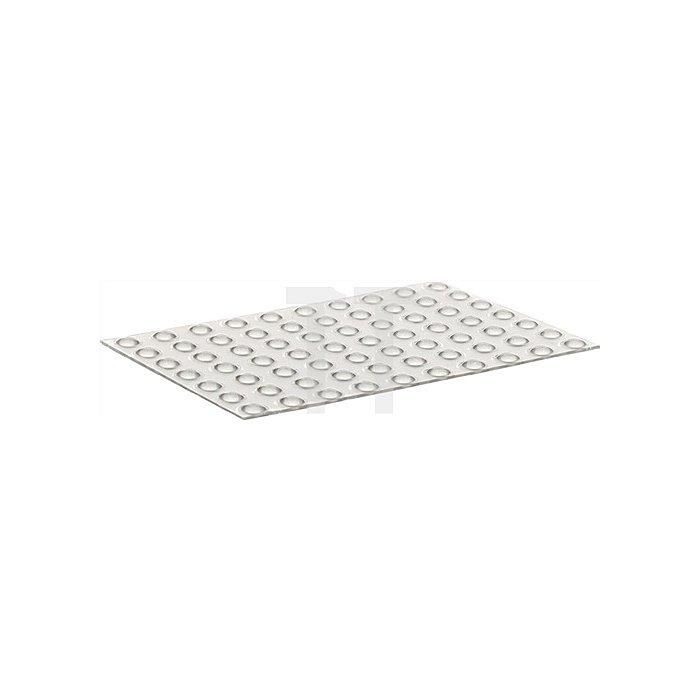 Schutzpuffer CLEAR Linse D. 6,4mm Höhe 1,9mm Kunststoff klar selbstklebend