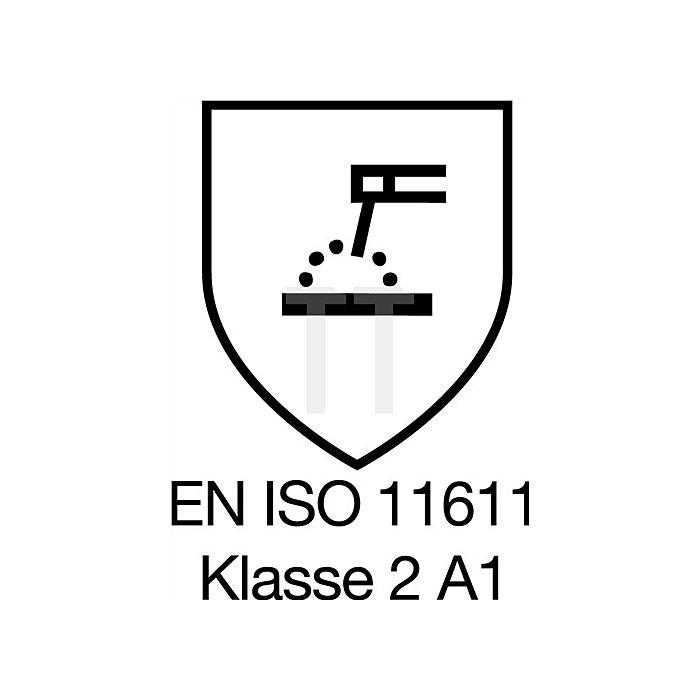 Schweisserschutzjacke Gr. 48 königsblau EN470-1/531