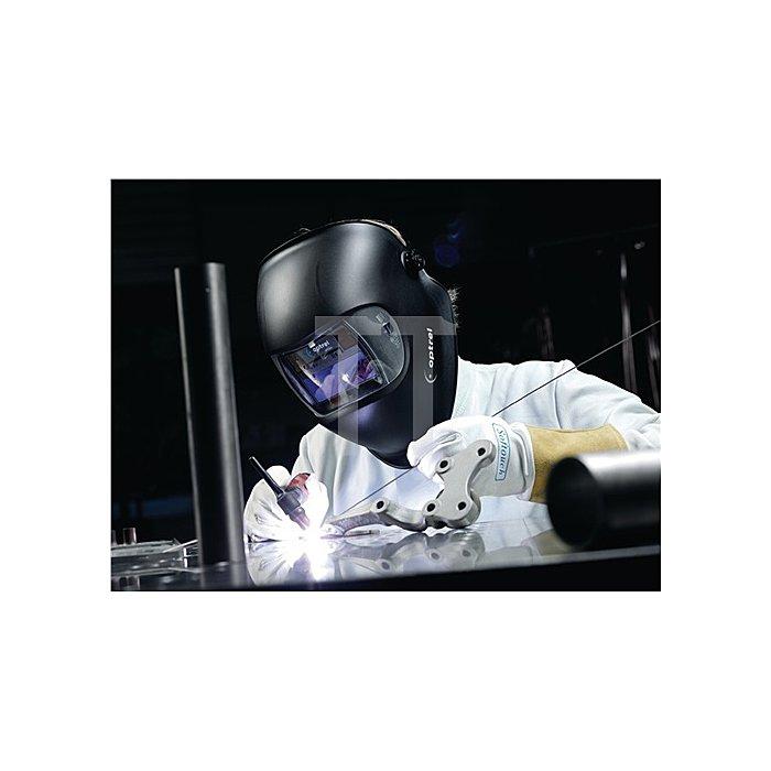 Schweisserschutzschild Optrel e640 DIN4/10 DIN4-/11 Sichtfeld 38x98mm schwarz