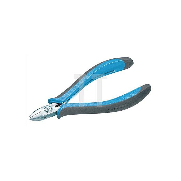 Seitenschneider ovaler Kopf o.Fase 2Komp.-Griff 125mm