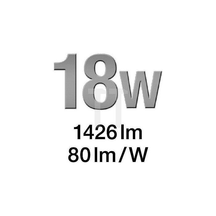 Sensor LED-Strahler 198 LEDs 12W 720Lumen m. Bewegungsm. weiss