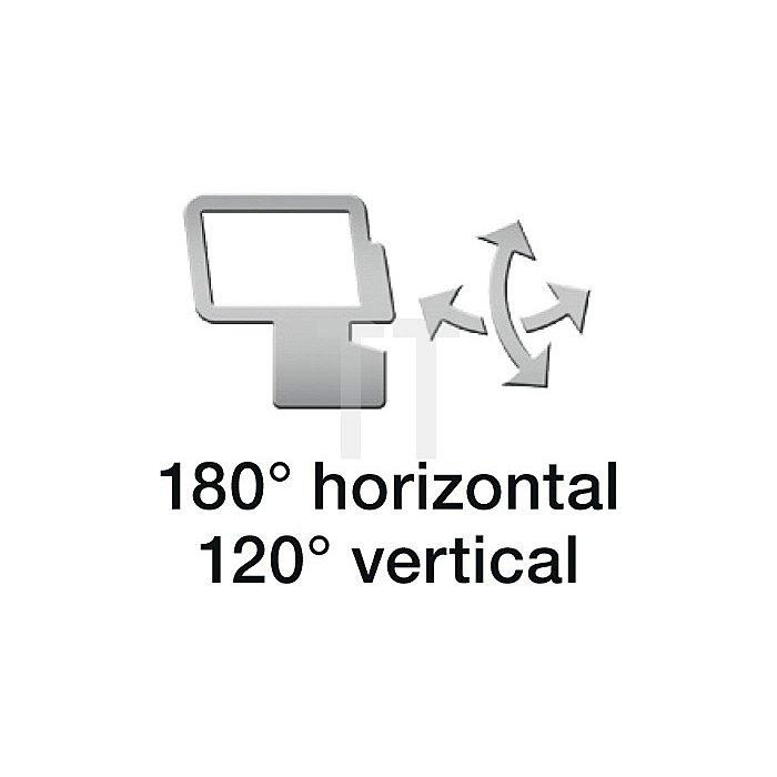 Sensor LED-Strahler 330 LEDs 18W 1426Lumen m. Bewegungsm. weiss