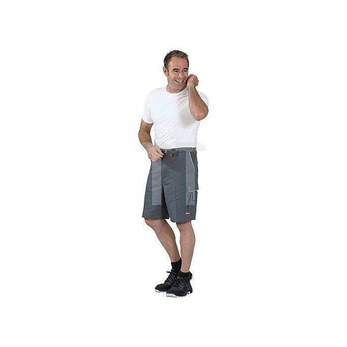 Shorts Canvas 320 Gr.M grau/schwarz 65 % PES/35 % BW