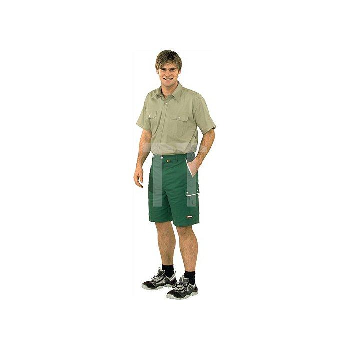 Shorts Canvas 320 Gr.S grün 65 % PES/35 % BW