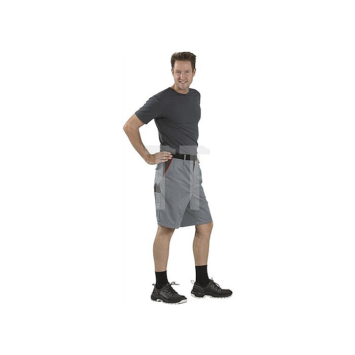 Shorts Highline Gr.S schiefer/sw/rot PLANAM 65 % PES/35 % BW