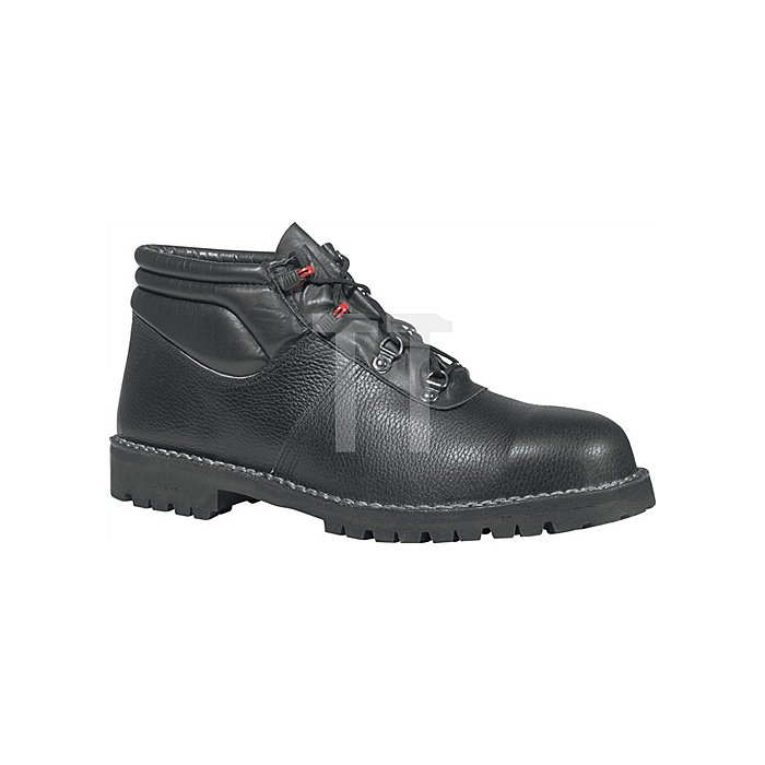 Sicherheits-Schnürstiefel EN ISO 20345 S3 RS SRC Junior Gr. 51 Rindleder schwarz