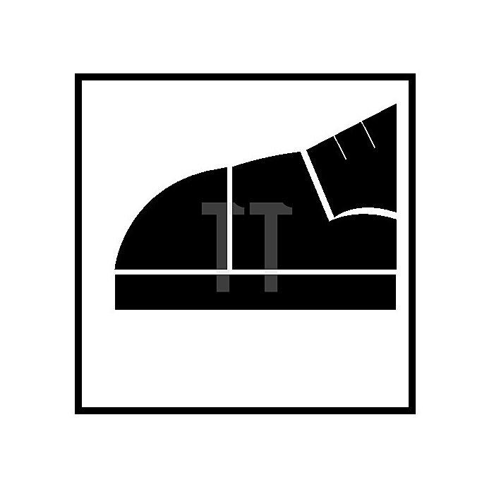 Sicherheits-Schnürstiefel EN20345 ESD S3 Teak Gr.45 Glattleder schwarz Überkappe
