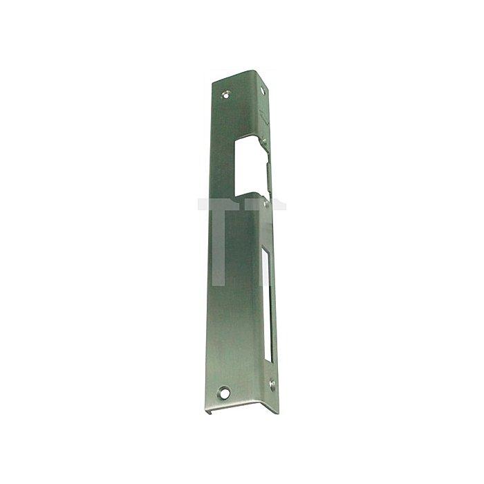 Sicherheits-Winkelschließblech 250x25x36x2mm stark / links Edelstahl