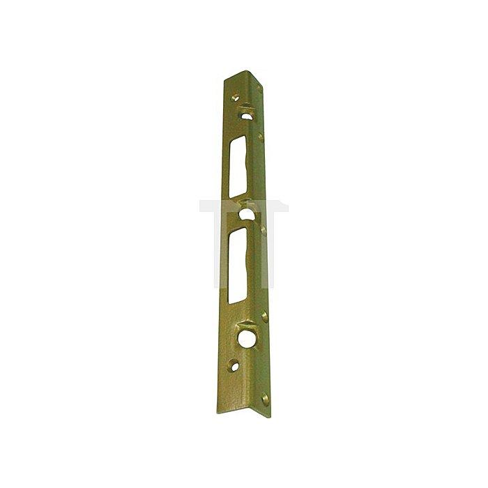 Sicherheits-Winkelschließblech 280x20x3mm stark Stahl hell verzinkt