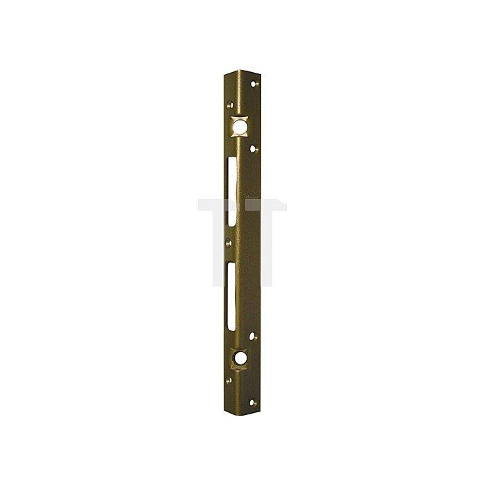 Sicherheits-Winkelschließblech 300x20x25x3mm stark Stahl hell verzinkt