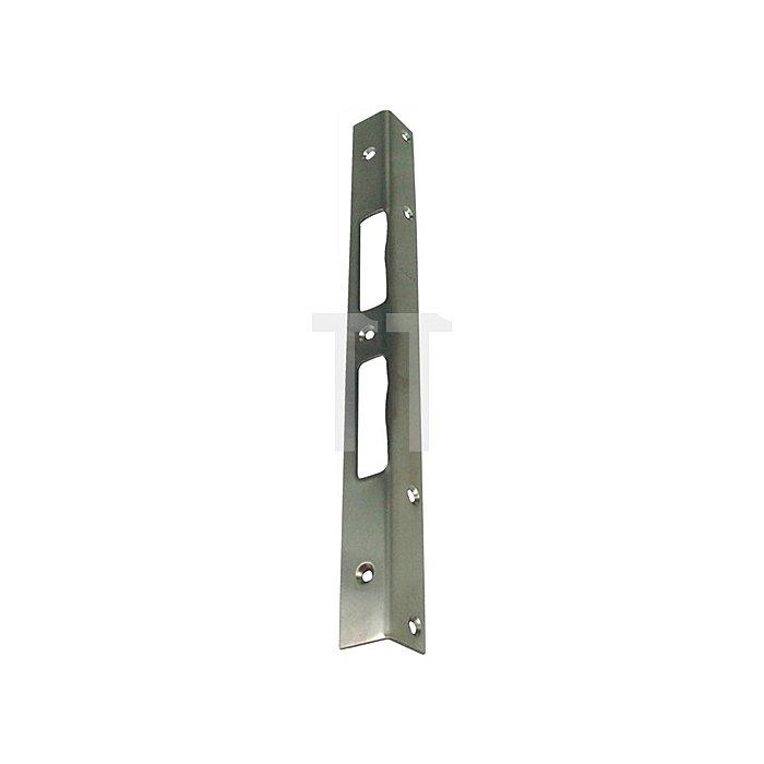 Sicherheits-Winkelschließblech 300x25x25x2mm stark Edelstahl