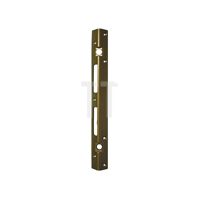 Sicherheits-Winkelschließblech 300x25x25x3mm stark Stahl verz. limba