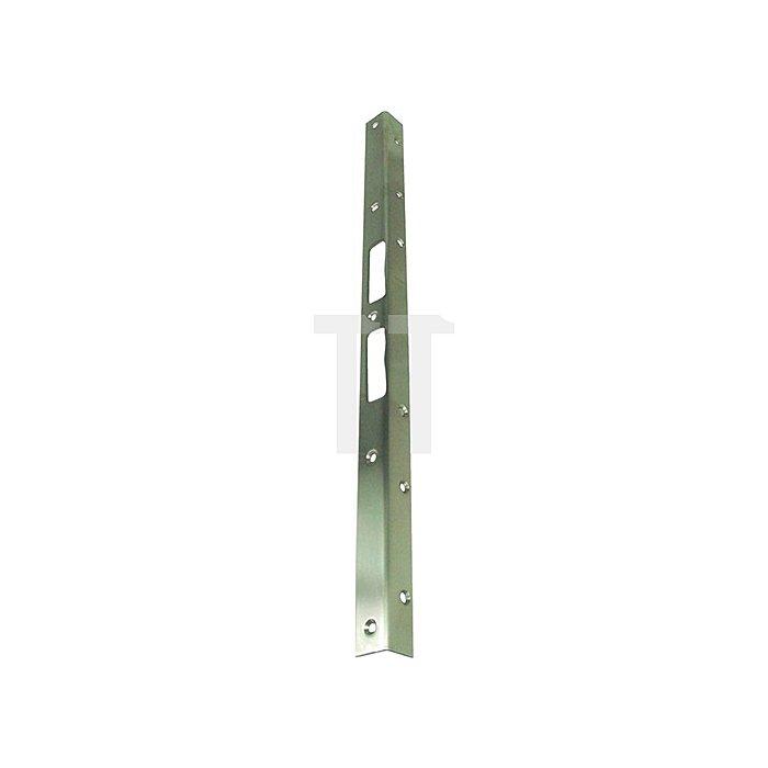 Sicherheits-Winkelschließblech 500x25x25x2mm stark Edelstahl