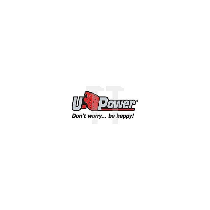 Sicherheitshalbschuhe S1 P Equipe Gr.45 W.11 schwarz/rot U-Power Glattleder