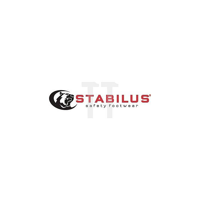 Sicherheitssandale S1 ESD Gr.39 carbon/grau/rot Stabilus Nubuk Komfortbreite