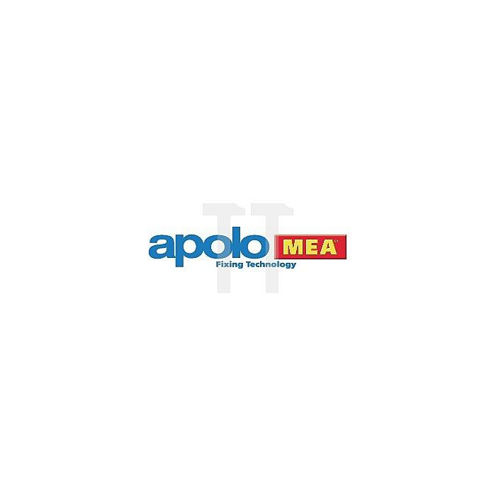 Sicherheitsschraube 7x105 SSK Sechskantschraube gelb verzinkt apolo MEA