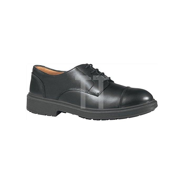 Sicherheitsschuh EN 20345 S3 SRC London Gr.42 Glattleder Lederfutter schwarz