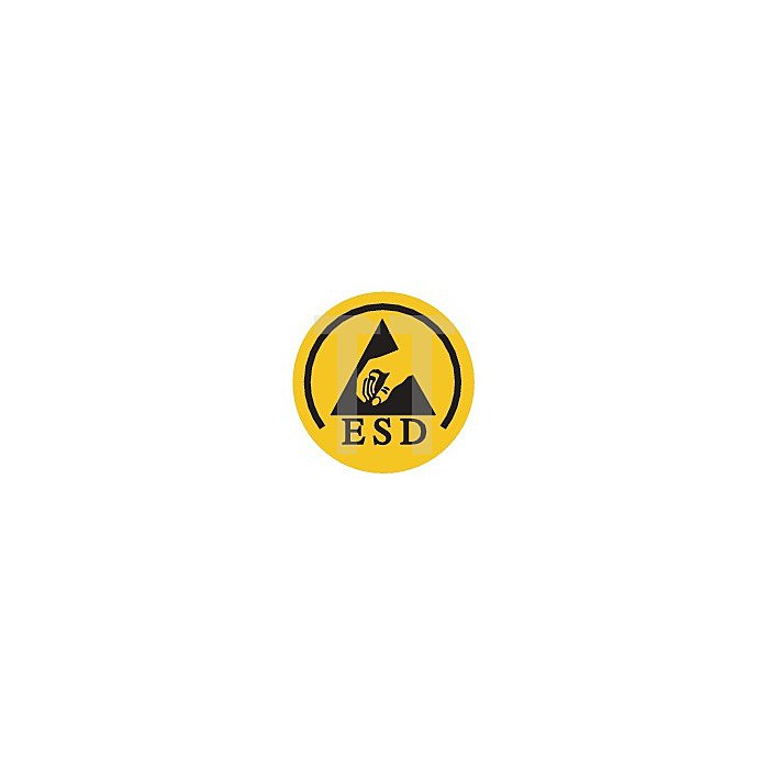 Sicherheitsschuh EN20345 Gr.42 S1 ESD 6134 A Textilien Funktionsfutter schwarz