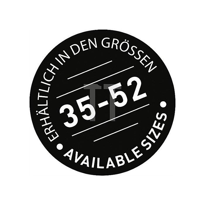Sicherheitsschuh EN20345 Gr.43 S1 ESD 6134 A Textilien Funktionsfutter schwarz