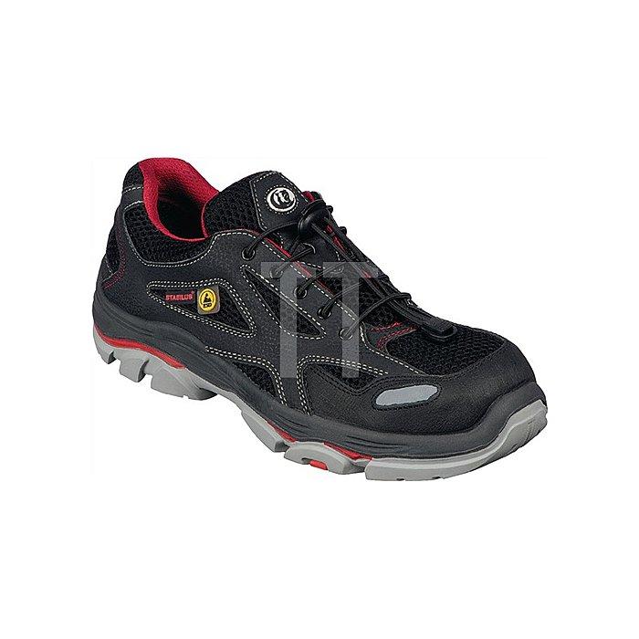 Sicherheitsschuh EN20345 Gr.45 S1 ESD 6130 A Textilien Funktionsfutter schwarz