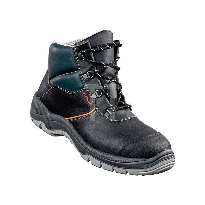 Sicherheitsstiefel 8330 EN 20345 Gr. 45 S3 Leder schwarz Stahlkappe