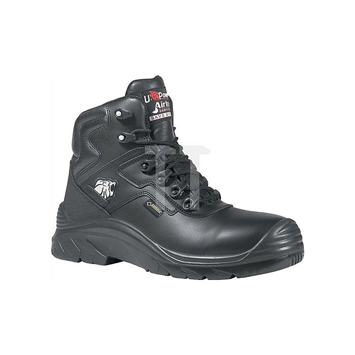 Sicherheitsstiefel EN20345 S3 HRO HI SRC Drop GTX Gr.45 Glattleder schwarz W.11