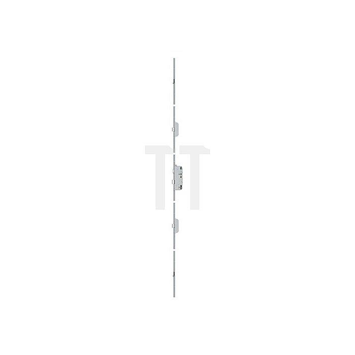 Sicherheitstürverschl.Secury R4 Dorn 65mm Enf.92mm Stulp-B.16mm flach PZ gel.