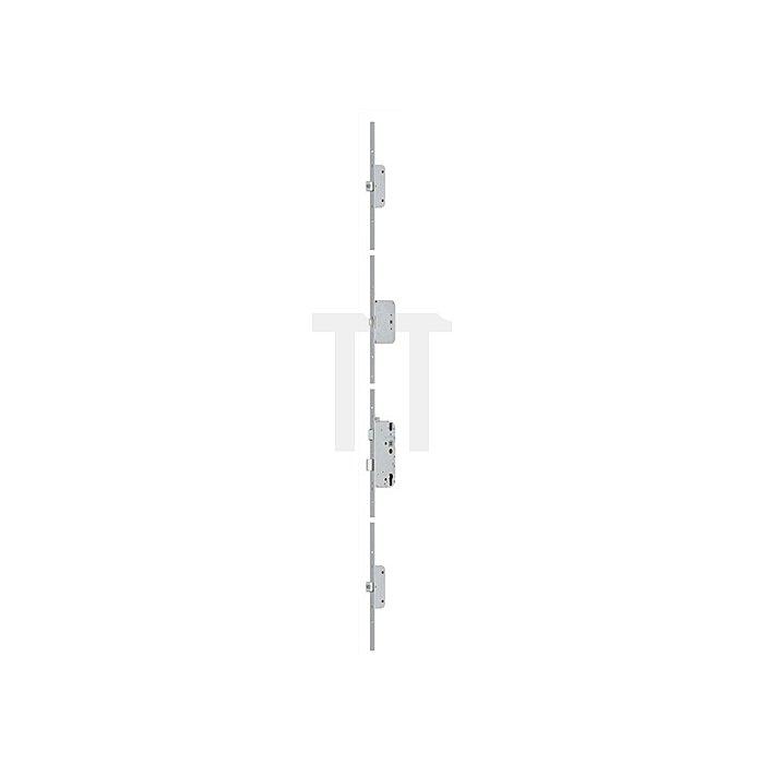 Sicherheitstürverschluss Secury Automatic m.Sperrbügel Dorn 65mm Entf. 92mm 20mm